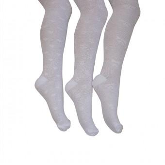 Pirinç Desenli Asortili Çocuk Külotlu Çorap