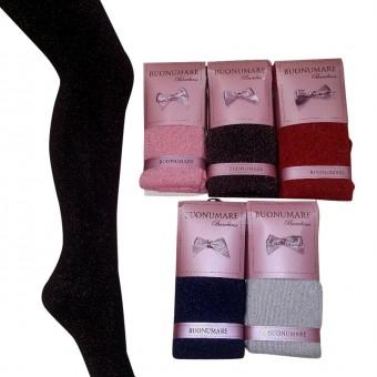 Simli Çocuk Külotlu Çorap