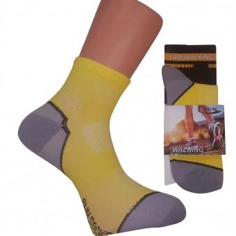 Sarı Renkli Spor Bayan Çorap