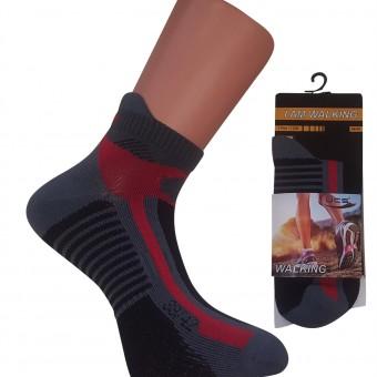 Gri Zeminli Spor Bayan Çorap