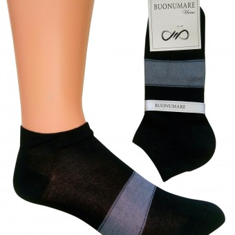 Erkek iki renk spor kısa çorap