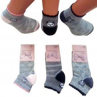 Minik panda desen çocuk patik çorap
