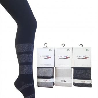 Kalın çember simli çocuk külotlu çorap