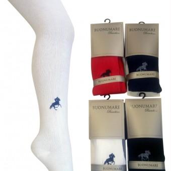 At binici desen nakışlı çocuk külotlu çorap