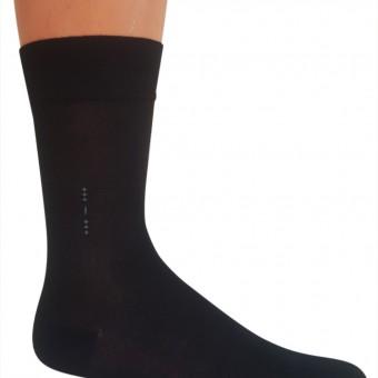 Dik yıldızlar desen bambu erkek çorap